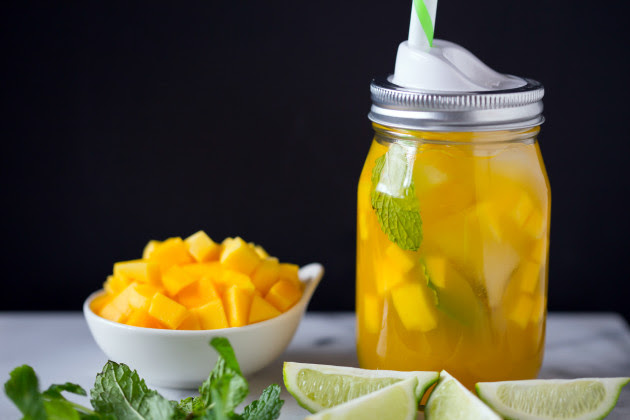Sweet Mango Green Tea Photo