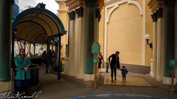 Disneyland Resort, Disney California Adventure, Little, Mermaid, Entrance, Sign