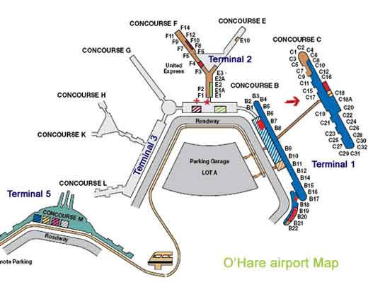 Chicago O39Hare International Airport ORD me and airports have