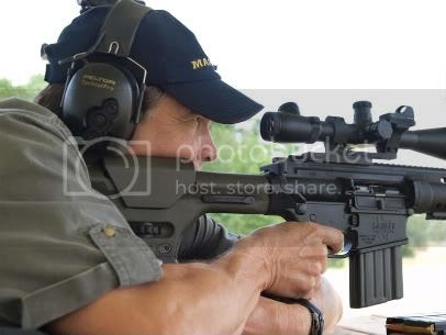 Governor Rick Perry at LaRue Tactical