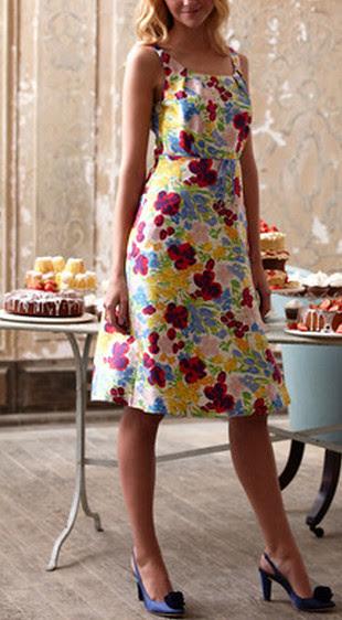 Boden fifties party dress