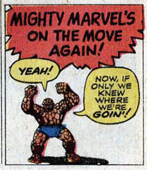 Mighty Marvel's on the move again