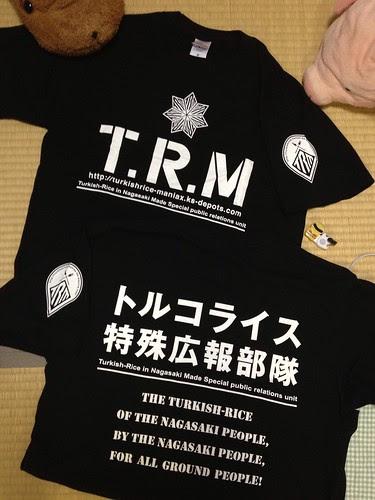 T.R.M Tシャツ!
