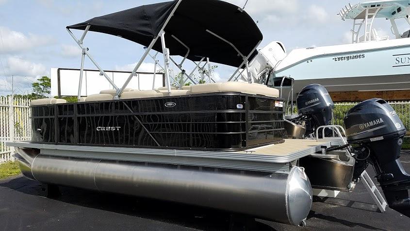 Crest Pontoons Boats For Sale In Florida