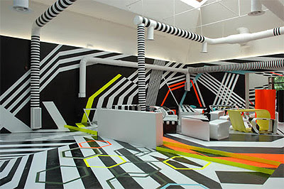 Geometric Fiesta in a Cafe's Interior Design | Mindful Design