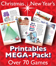 Printable Christmas Games MEGA-Pack of over 70 games and activities!