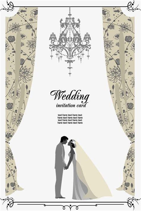 Vector Wedding Invitation, Hd, Vector, Greeting Cards PNG