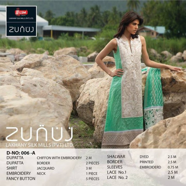 Beautiful-Cute-Girls-Models-Wear-Summer-Eid-Dress-Collection-2013-Lakhani-Silk-Mills-15