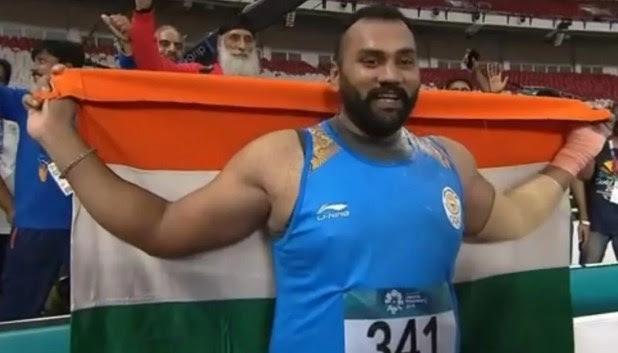 Image result for Tejinderpal Singh won gold