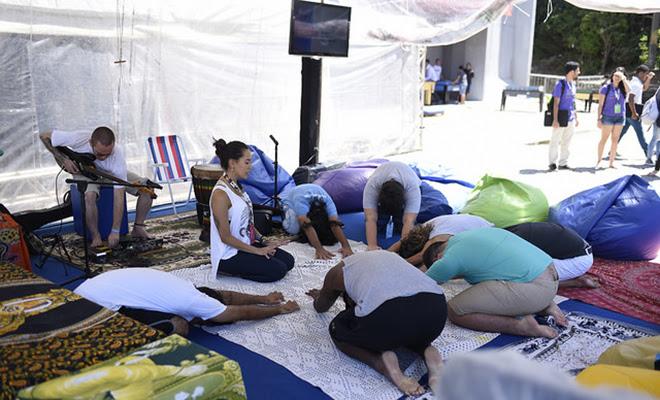 Resultado de imagem para Camping Wellness campus party
