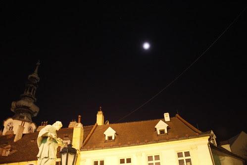 Statue bathing in moonlight 2
