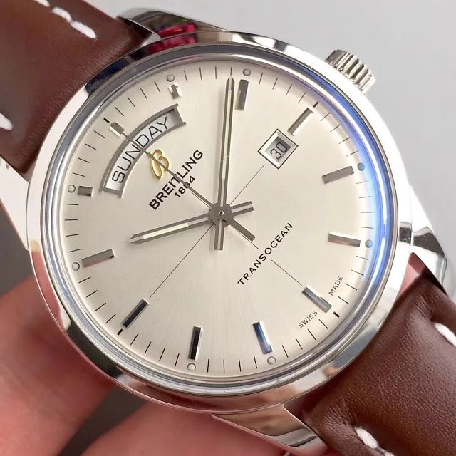 Replica Breitling Transocean White Dial