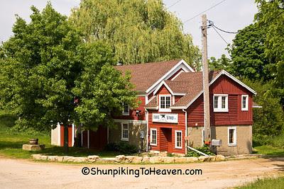 Postville Blacksmith Shop, 1856, Green County, Wisconsin