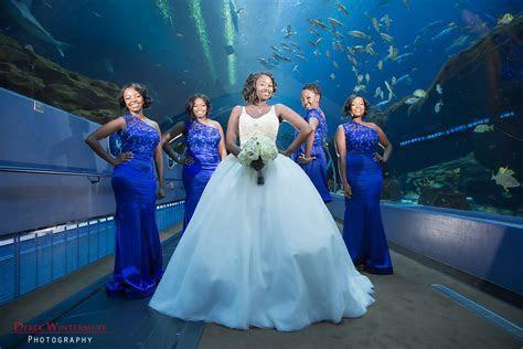 A Romantic Georgia Aquarium Wedding   The Coordinated Bride