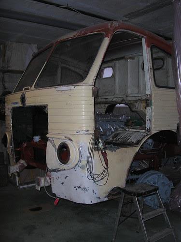 Restauració d'un Pegaso 1061