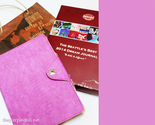 Seattle's Best 2014 Dream Journal The Purple Doll Giveaway