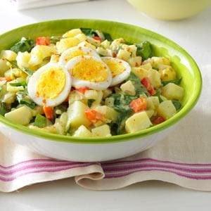 Dandelion Potato Salad Recipe