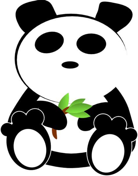 gambar cartoon panda clipart