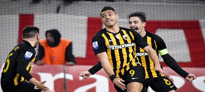 Super League: Μεγάλο διπλό της ΑΕΚ (1-2) με φοβερή ανατροπή στο Καραϊσκάκη