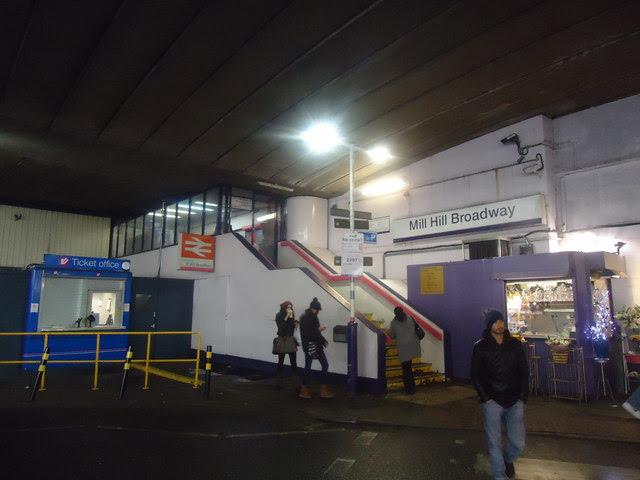 Mill Hill Broadway railway station