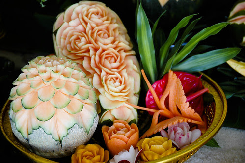 Thai Fruit Carving by Masala Cha Photography ™.