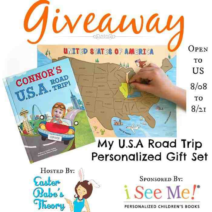 USA Road Trip Book Set Giveaway