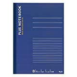 プラス ノートブック6号(セミB5)B罫100枚 NO-010BS 76-708