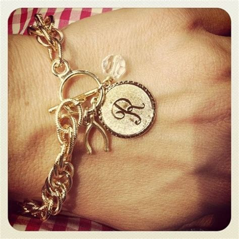 Monogram Jewelry For The Bride And Bridesmaids   Rustic