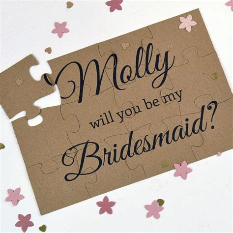 10 Ways to Ask: Will You Be My Bridesmaid?   wedding   Ask