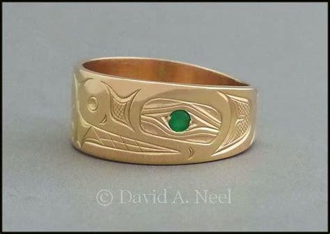 23 best Gold Rings   Northwest Coast Indian images on