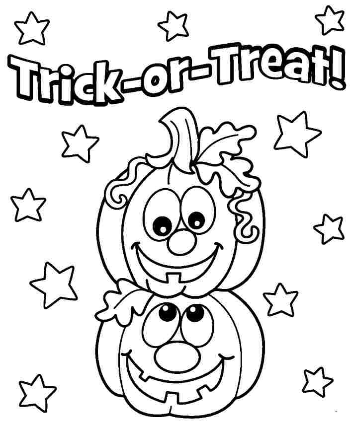 Free Printable Halloween Pumpkin Coloring Pages at ...