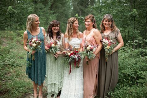 Bohemian Barn Wedding: Grace   Andrew   Green Wedding
