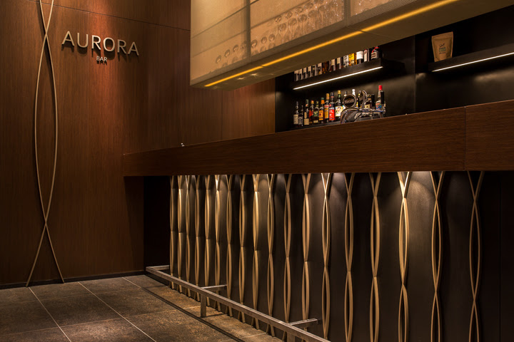 Retail Design Blog — Aurora restaurant and bar by Barmade Interior - INTERIOR DESIGN ZURICH SWITZERLAND RentalDesigns.Com