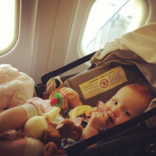 photo bébé voyageur