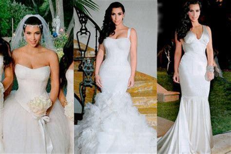 Pick Your Favorite Kim Kardashian Wedding Dress!