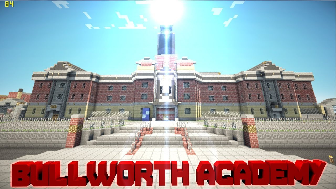 Minecraft Pe Custom Map Bullworth Academy Download Youtube