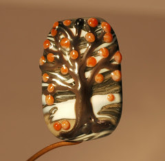 first snow tree bead