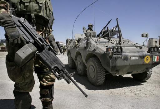 Militari italiani impegnati in una missione internazionale sotto l'egida Onu   (Ap)
