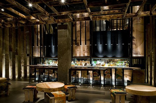 Sophisticated Ame Restaurant Design in Toronto - Mason Studio's Take On Modernism Has Global Appeal: Style Czar The Star