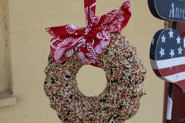 Bird Seed Wreath