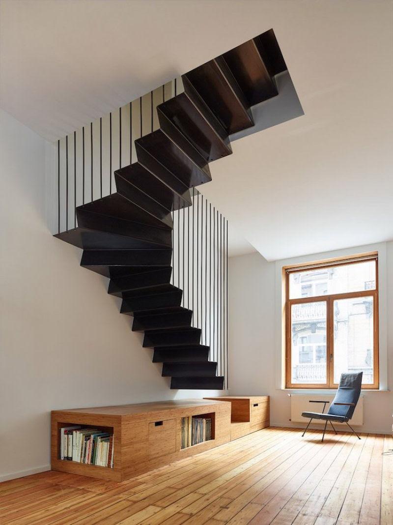 Escadas incrivelmente projetadas que estão um degrau acima das demais 08