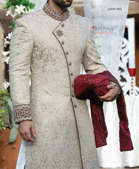Latest Sherwani Collection 2016   2017 for Men   Dresses