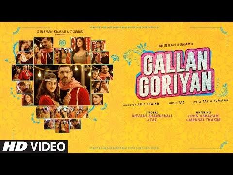 Gallan Goriyan Lyrics | Dhvani Bhanushali & Taz | Lyricist Taz | T-Series