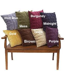 Tufted Velvet Pillows (Set of 2) | Overstock.