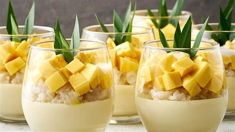 mango sticky rice  cup unilever food solutions