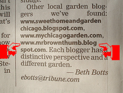 MrBrownThumb, Chicago Tribune, Home & Garden