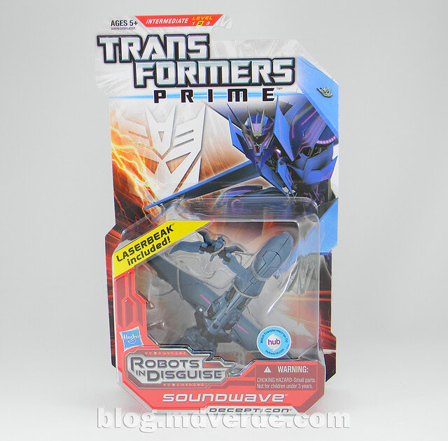 Transformers Soundwave - Prime RID - caja