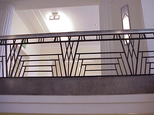 Ballustrade, Hoover Building