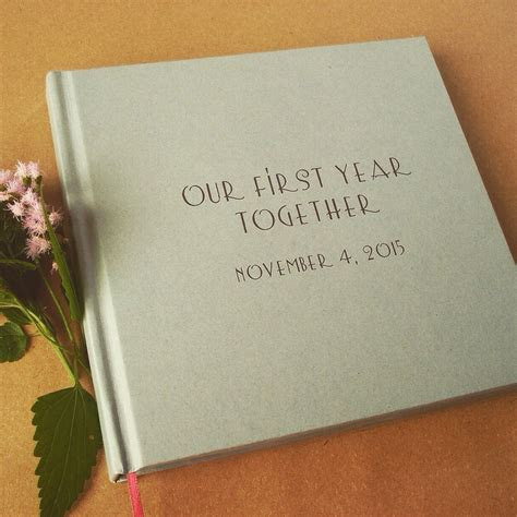 Personalized First Wedding Anniversary Gift * Custom