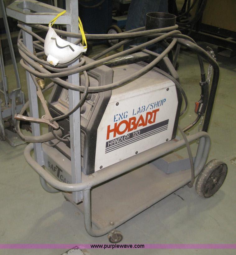 Hobart Handler 120 welder | no-reserve auction on ...